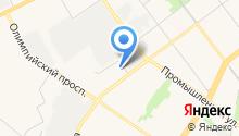 Автоцентр на ул. Ефремова на карте