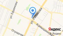 Galla на карте