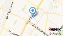 Acura на карте