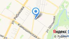 Автозапчасти для иномарок на Жигулёвской на карте
