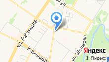 Автомойка на Жигулевской на карте