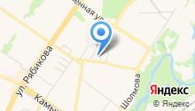 Альфа Буксир на карте