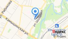 Железка73.рф на карте