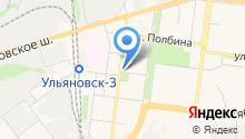 Отдел гражданской защиты по Засвияжскому району на карте
