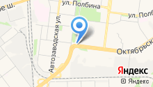 Яр на карте