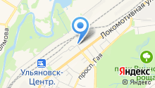 Автостоянка на Локомотивной на карте