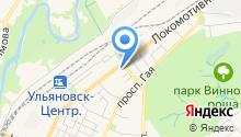 Автомойка на Локомотивной на карте