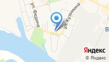 Магазин автотоваров на Заводской на карте
