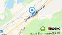 бухгалтерский центр на карте