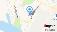 Волжскпромстрой, ПАО на карте