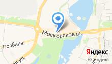 Мотом на карте