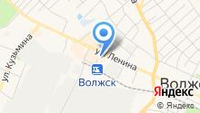 Отдел вневедомственной охраны при МОВД Волжский на карте