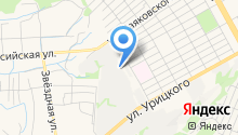 Аварийно-диспетчерская газовая служба на карте