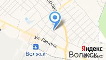 Отдел службы судебных приставов по Волжскому району Республики Марий Эл на карте