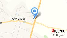 Пельменная на Помарском шоссе на карте
