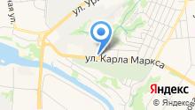 Лайк-Сервис на карте