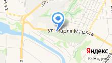 GMS на карте