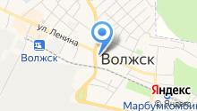 Волжский городской спортивный комплекс на карте