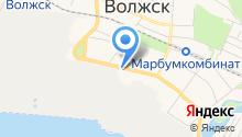 Волжский отдел Управления ФСБ России по Республике Марий Эл на карте