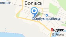 Центр предоставления мер социальной поддержки населения в г. Волжске на карте