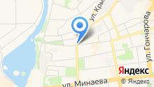 Улдор на карте
