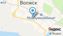 Детский сад №3, Орленок на карте