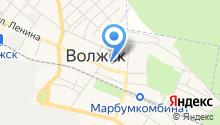 Управление Пенсионного фонда России в Волжском районе Республики Марий Эл на карте