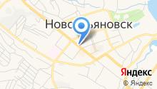 Ульяновский строительный колледж на карте