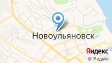 Ульяновскэнерго на карте