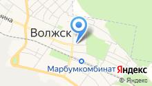 Продуктовый магазин №1 на карте