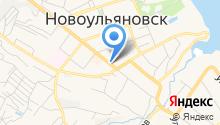 Управление Министерства труда и социального развития Ульяновской области по г. Новоульяновску на карте