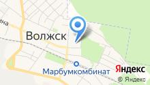Детский сад №17, Дюймовочка на карте