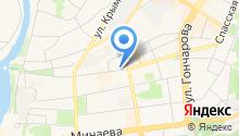 Областная детская школа искусств на карте