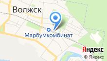 Администрация Волжского муниципального района на карте