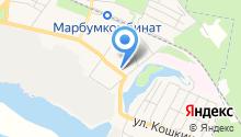 Продуктовый магазин на ул. Щорса на карте