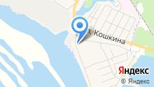 Порт Козьмодемьянск на карте
