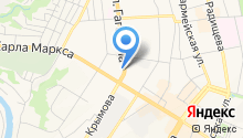 АВТОПРОКАТ НА ГАГАРИНА на карте