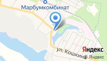 Парикмахерская на ул. Чкалова на карте