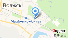 Администрация г. Волжска на карте