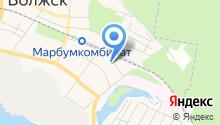 Волжский домостроительный комбинат на карте
