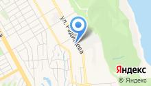 УльГЭС, МУП на карте