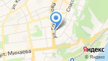 Baden на карте