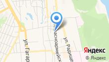 BackHome на карте