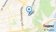 Отдел гражданской защиты по Ленинскому району на карте