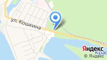 Шиномонтажная мастерская на ул. Кошкина на карте