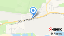 Зеленодольск-Лада на карте