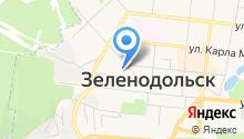С на карте