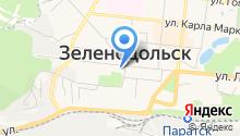 Зеленодольский музыкальный театр на карте