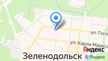 Зеленодольская центральная районная больница на карте
