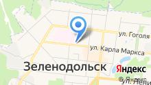 Зеленодольская детская городская больница на карте
